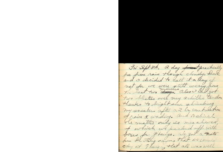 The Harvard African Expedition Book 1: September 3, 1926