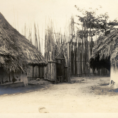Outer entry to Chief Suah Koko's compound